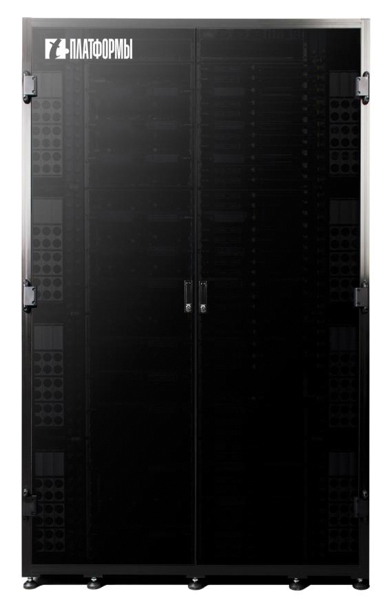 Figure 3. The supercomputer is based on T-Platforms's A-class high-density computing system and makes use of a liquid cooling system