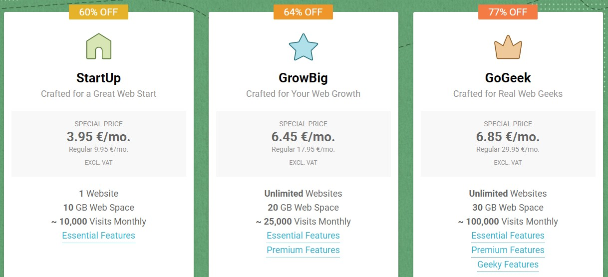 Best website hosting in the UK - SiteGround
